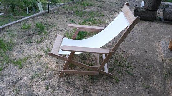 Chaungtha, Birmania: der Nachbau des bequemsten Deckchairs der Welt! Danke, Denis :)