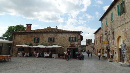 Ristorante Il Pozzo em Monteriggioni, Toscana: boa comida a preço razoável