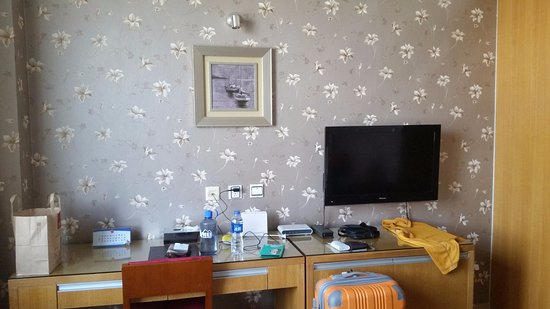 Days Inn Xian Hanguang: Desk