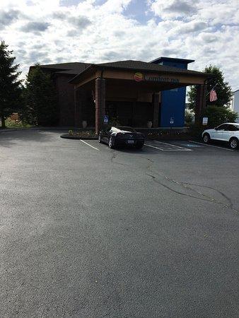 Ellsworth, Maine: Parkeren waar je maar wil en in overvloed