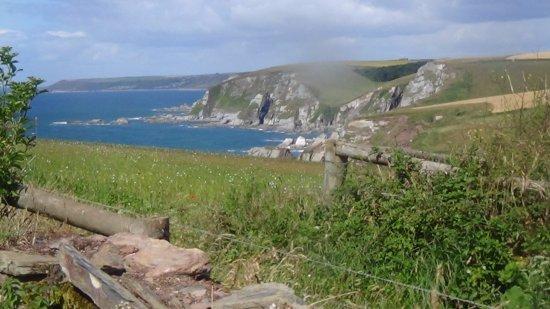 Bigbury-on-Sea, UK: Just one of the views from a beautiful walk.