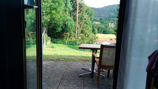Saint Die des Vosges, Frankrijk: Vue intérieur vers les massifs