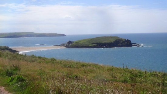 Bigbury-on-Sea, UK: Another lovely view of Burgh Island.