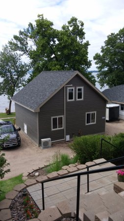 Miltona, MN: One of the new cabins!