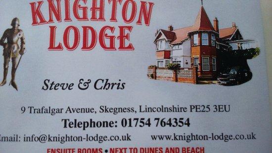 Knighton Lodge Image