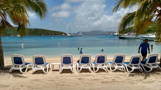 Born to Rhumb Charters: View from lunch