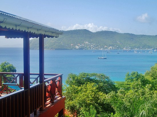 Lower Bay, Bequia: view from green room