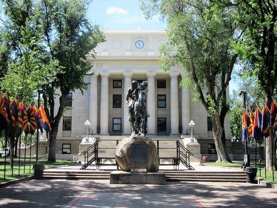 เพรสคอตต์, อาริโซน่า: Historic Court House in Prescott