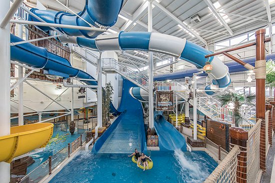 Drogheda, Irlanda: Funtasia Waterpark Landing Pool