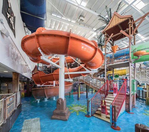Drogheda, Irlandia: Waterpark Orange Slide