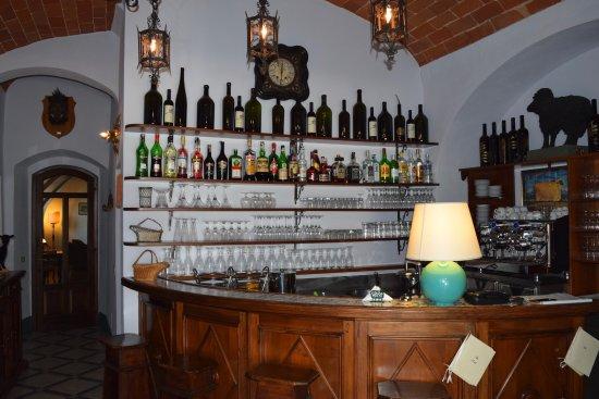 Tenuta di Ricavo: Our bar area