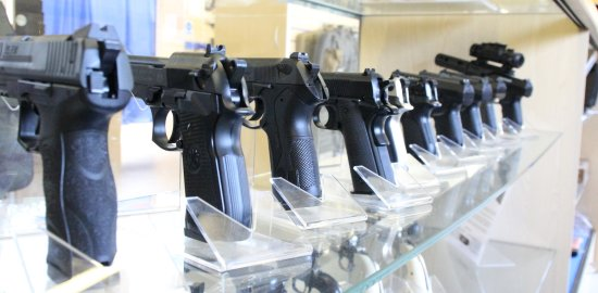 Letchworth, UK: pistols available to hire