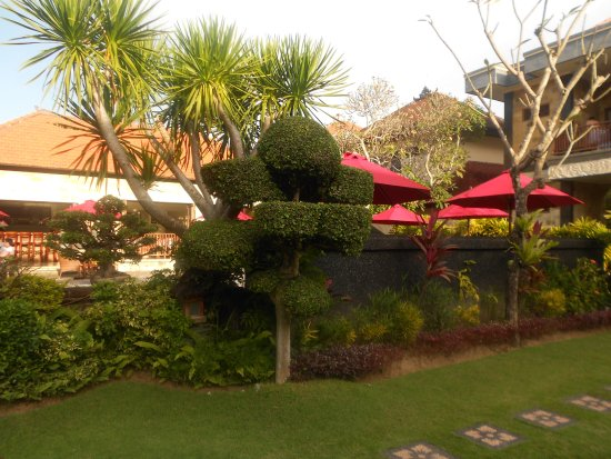 Segara Agung Hotel: giardino