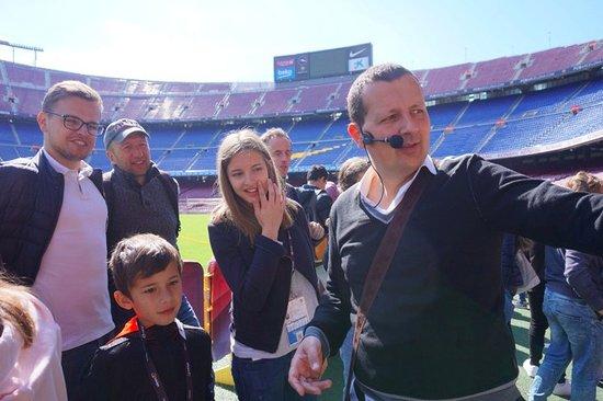 Camp Nou Visit