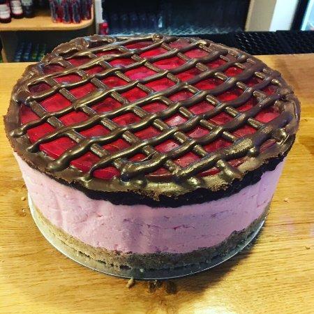 Ammanford, UK: Turkish delight cheesecake