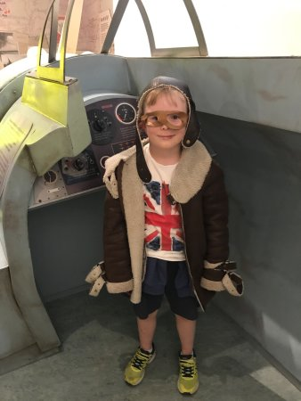 Great Missenden, UK: A Norwegian boy enjoying the museum in June 2017