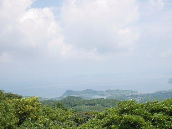 Saikai, Giappone: 展望台からの景色