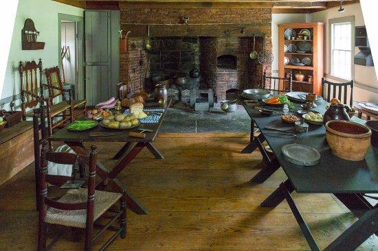 Morristown, Νιού Τζέρσεϊ: Ford mansion kitchen