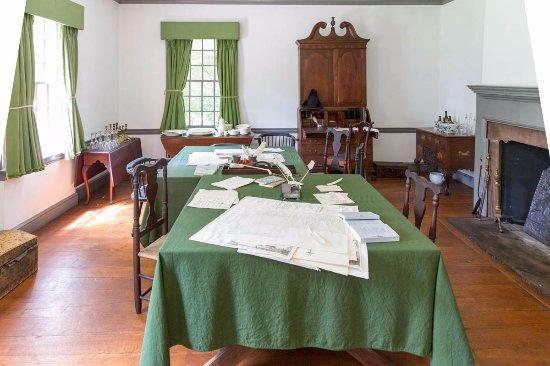 Morristown, Νιού Τζέρσεϊ: George Washington's Operations Room