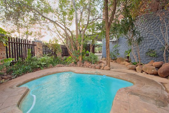 Marloth Park, Afrika Selatan: Royale Guesthouse Private Splash Pool