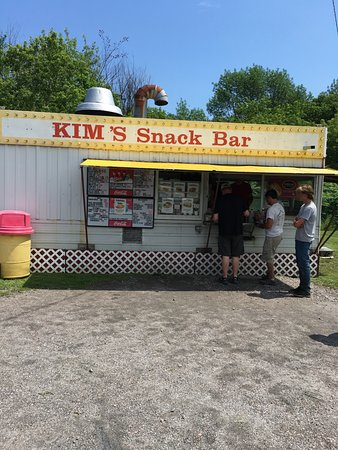 Grand Isle, VT: Kim's Snack Bar