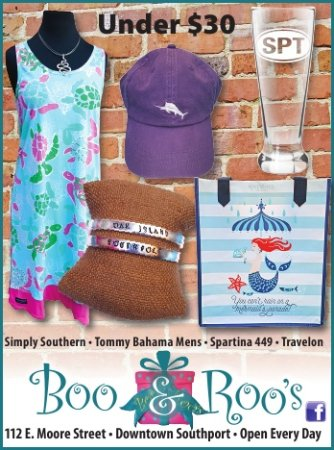 Southport, Carolina del Norte: Spartina 449 and Simply Southern are top best sellers