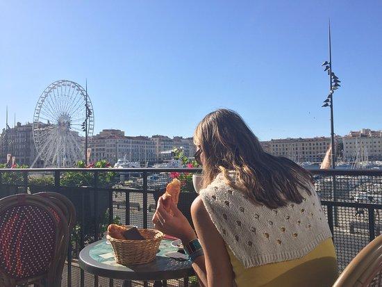 La Caravelle: Blick vom Balkon )))