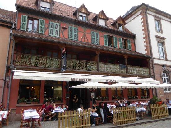 Le Restaurant La Maison Rouge