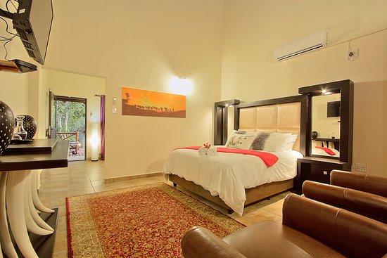 Marloth Park, جنوب أفريقيا: Deluxe Lodge Room