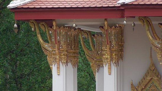 Sundsvall, السويد: Thai Pavilion from parking