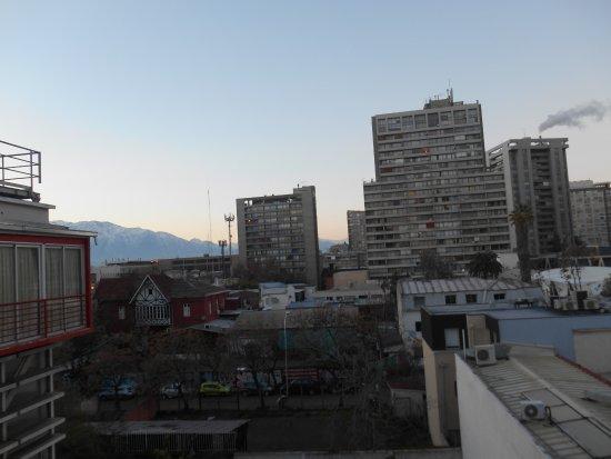 Hotel Nippon: vista desde la habitacion en el 6º piso