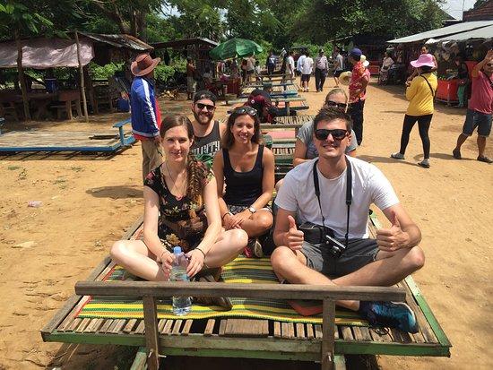 Battambang, كامبوديا: Bamboo train in Battambang of Cambodia
