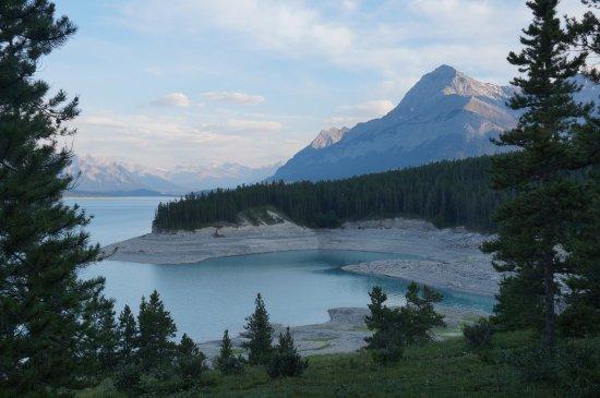 Abraham Lake, แคนาดา: View from the B&B