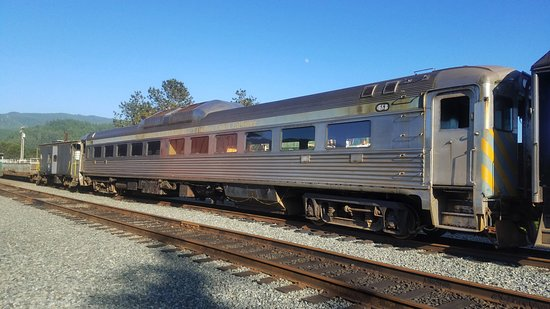 Garibaldi, OR: Oregon Coast Scenic Railroad rolling stock