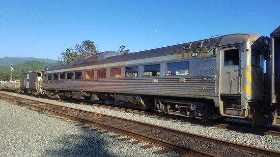 Garibaldi, ออริกอน: Oregon Coast Scenic Railroad rolling stock