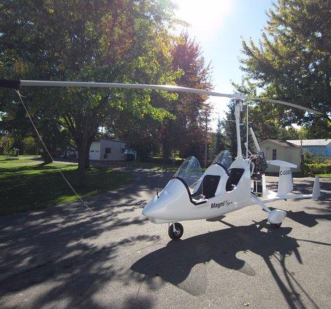 Terrebonne, แคนาดา: Notre autogire