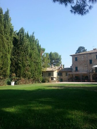 Monsampolo del Tronto, Italien: Il panorama di ogni mattina