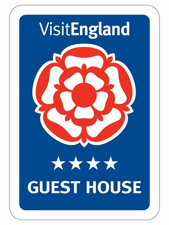 Sunningdale Guest House : 4 star award from Visit England