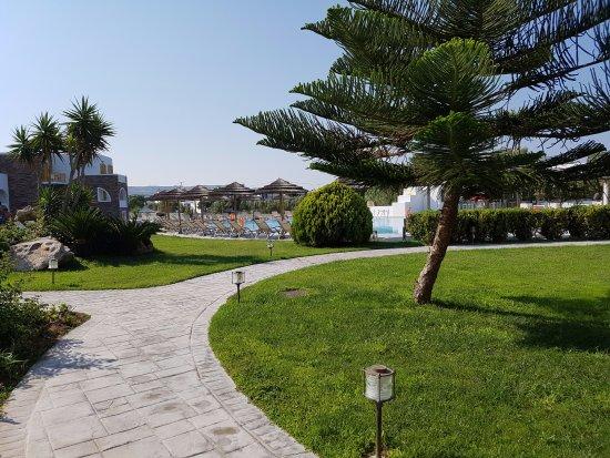 Aegean Land: Inside the Hotel area