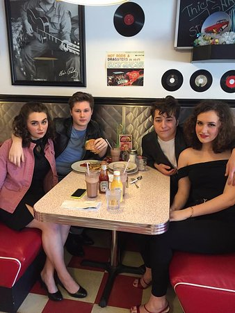 """Itasca, IL: High school students """"Grease Play"""""""
