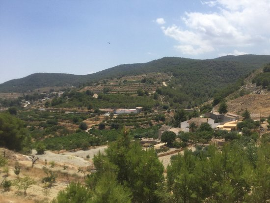 Gebas, Spain: From the terrace