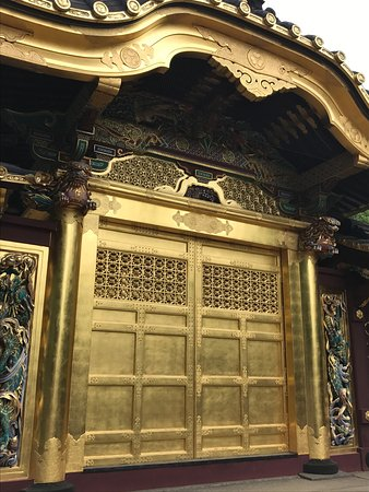 Toshogu Shrine The gold Chinese doors & The gold Chinese doors - Picture of Toshogu Shrine Taito - TripAdvisor