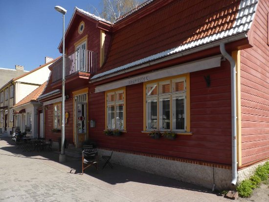 Mahedik Cafe : Außenansicht
