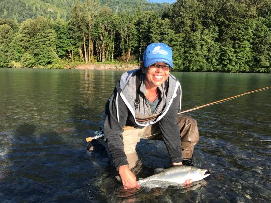 Valley Fishing Guides Day Trips: My first pink salmon!