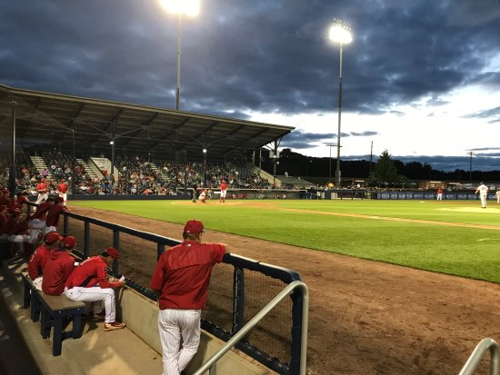 Williamsport, PA: BB&T view from near Crosscutters dugout