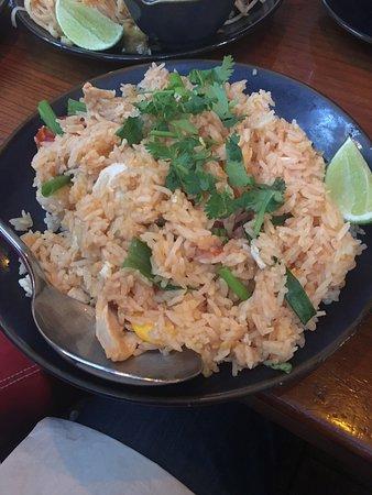 Davis, CA: Thai fried rice
