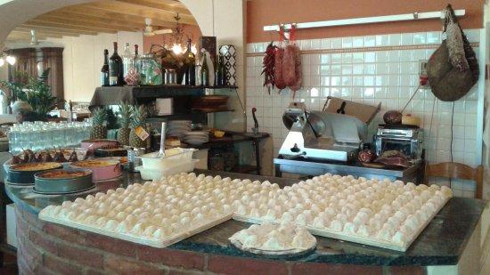 Dicomano, Italië: Tortelli di patate appena preparati