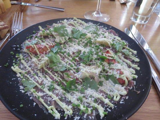 Mami : Carpaccio made of veal from Eskola farm