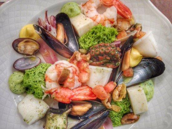 Artogne, Italia: Insalata di mare CurtColors