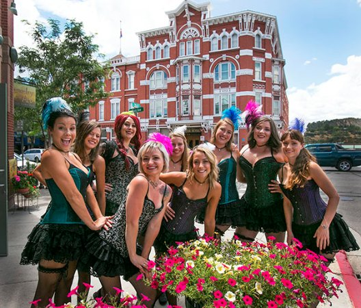 Strater Hotel: Belle Girls from the Diamond Belle Saloon